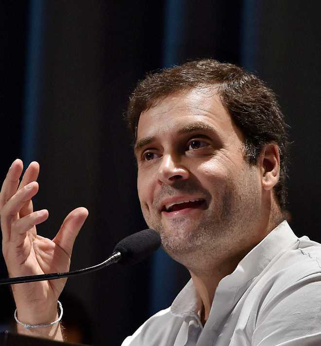 Certainly a scam, Rahul Gandhi reiterates on Rafale deal