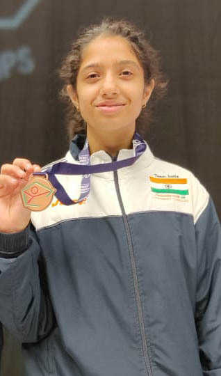 Difficult to vie with the best, but I was confident: Fencing medallist