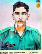 2/Lt Rakesh Singh: Youngest recipient of Ashoka Chakra