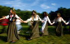 Belarusian women take part in the Ivan Kupala festival in Belarusian state museum of folk architecture and rural lifestyle near the village Aziarco, Belarus, on July 7, 2018. Reuters