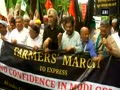 Farmers protest over loan waiver, MSP