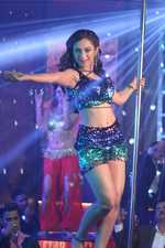 Lavina's  jaw-dropping pole dance