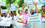 Traders protest ban on retail outlets