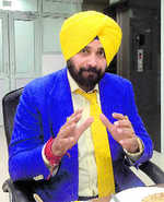 Can't benefit colonisers who robbed govt: Sidhu on policy