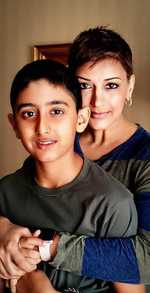 Sonali Bendre pens heartfelt note for son amidst cancer treatment