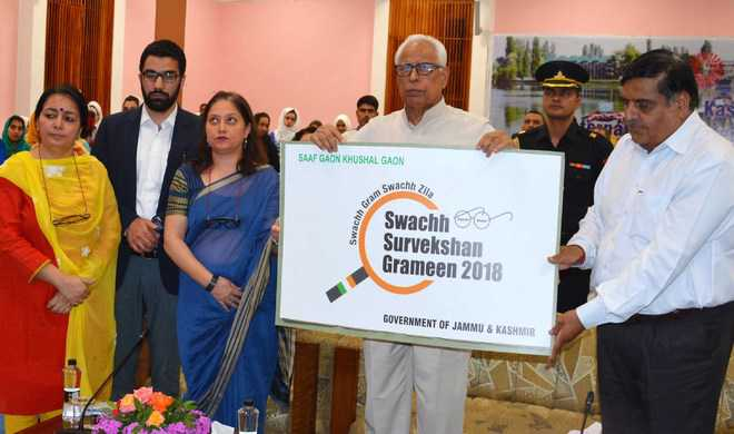 Need to educate people to make J&K open defecation-free: Guv