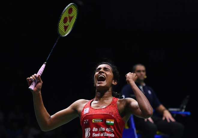 Sindhu beats Okuhara; enters semis to be assured of a medal