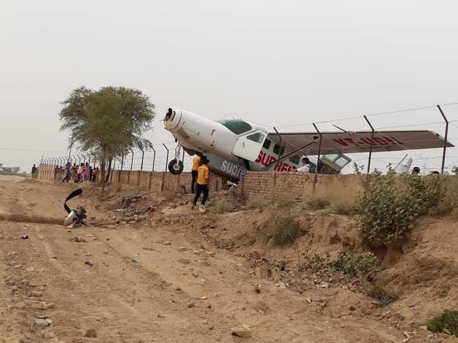Plane overshoots runway in Rajasthan; passengers safe