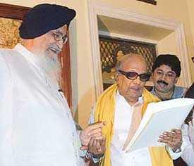 Karunanidhi's Punjab connect