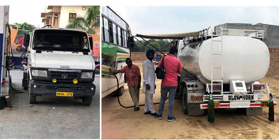 'Mobile' filling station sealed, SAD leader's family in a spot