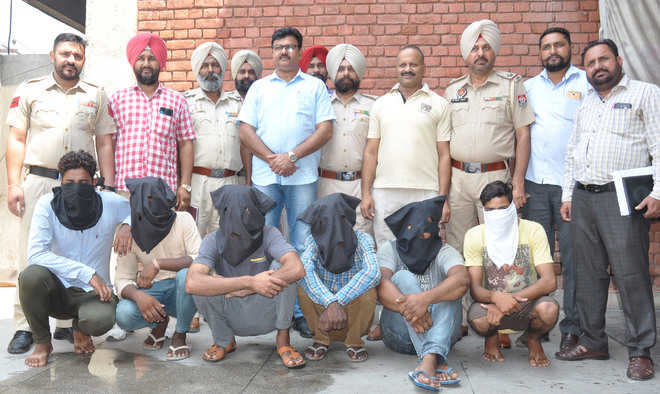 Four vehicle thieves nabbed