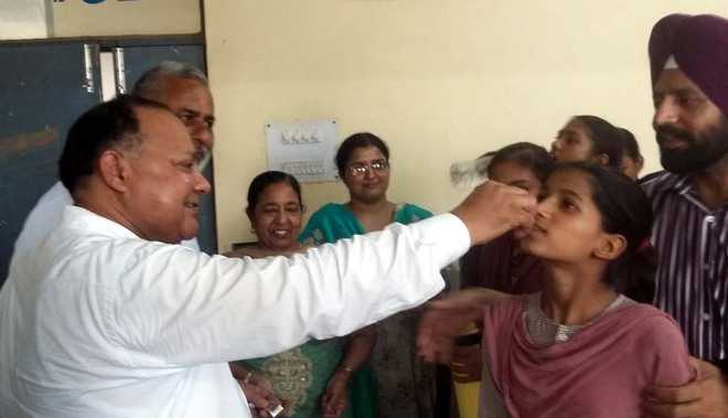 Health Department organises Deworming Day in city