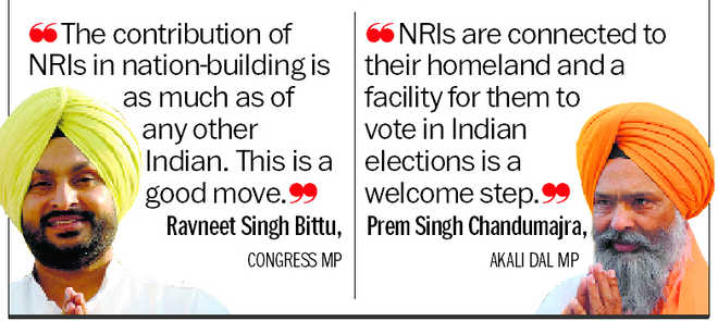MPs welcome LS move on proxy NRI voting