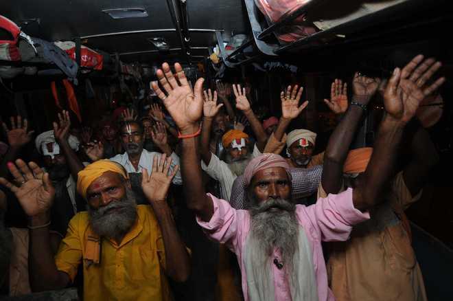 Batch of 68 pilgrims leaves Jammu for Amarnath shrine