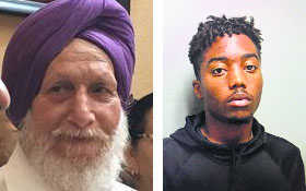 Police chief's son charged in attack on elderly Sikh man in California