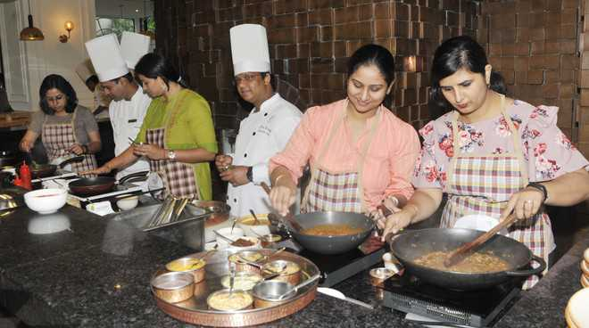 Wives of Army jawans show culinary skills at food fest