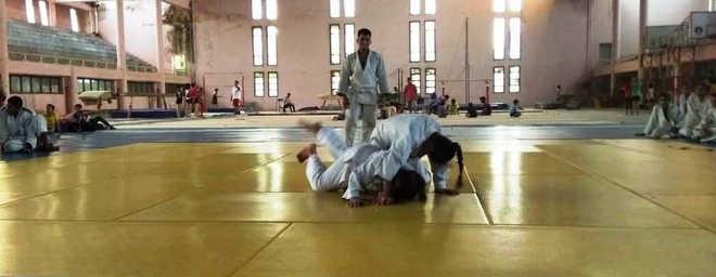 Judokas, athletes slug it out