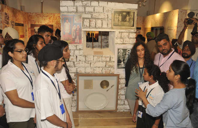 UK students at Partition Museum