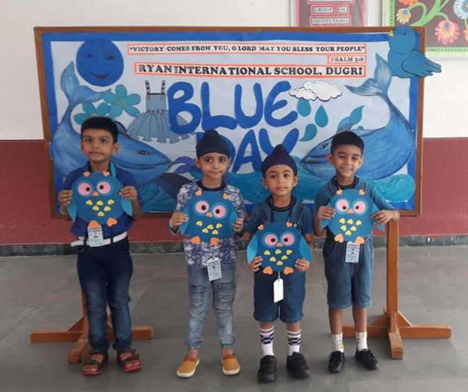 Blue Colour Day celebrated