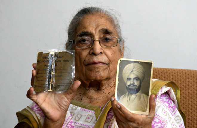 Paid peanuts, INA soldier's widow wages pension battle