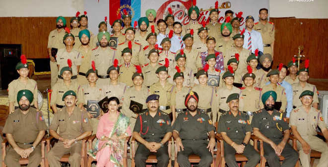 NCC-C certificate holders felicitated