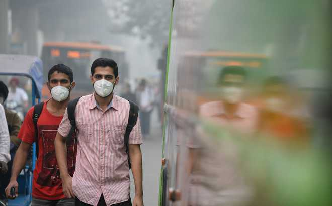 Excessive air pollution affects 660 million Indians