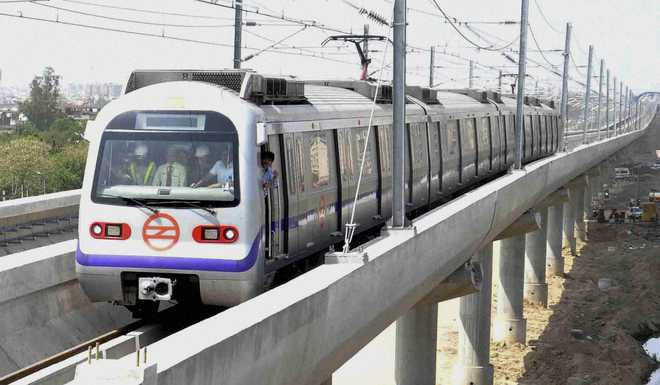 Special Metro train to spread message of patriotism for next 2 months