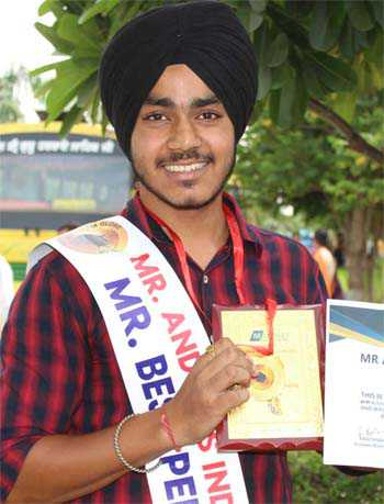 City lad is Mr India Best Personality 2018