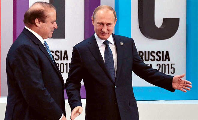 Pak in Russia's embrace