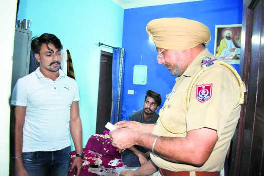 Police conduct security checks at PG facilities