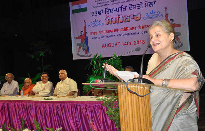 Nonagenarian freedom fighter bats for Indo-Pak peace