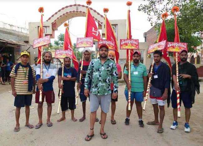 Pilgrims on a mission to eradicate social evils