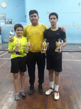Another feat by badminton prodigy Lakshay