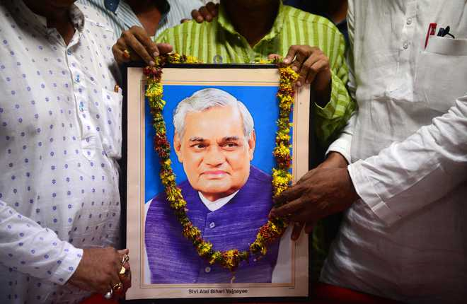 Chandigarh Administration announces holiday on Friday as mark of respect to Vajpayee