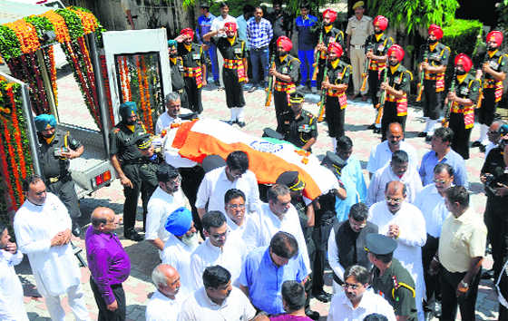 Balramji Dass Tandon cremated with honours