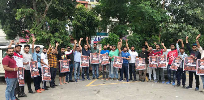 Youth Cong protests over Rafale deal