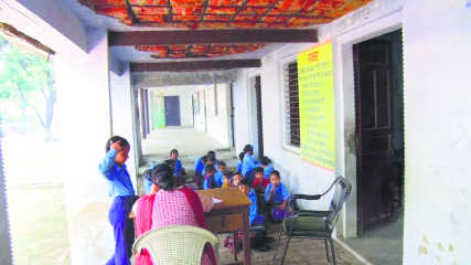 Dilapidated school building poses threat to lives of  kids