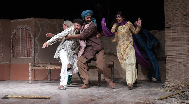 Punjabi plays dwell on psyche of people during Partition