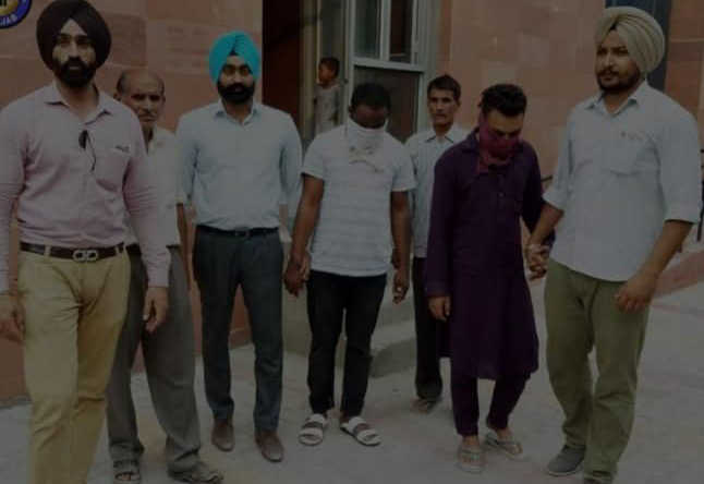 Foreigner among two held with  Rs 5-cr heroin