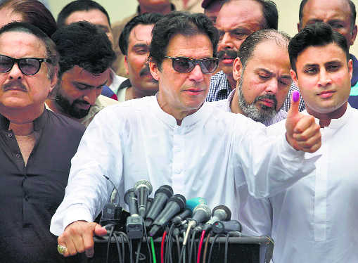 Taking Imran out of army's grip