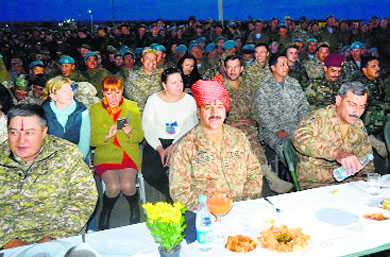 India, Pak troops let their hair down at Russia gala