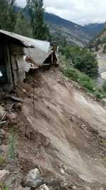 Rain wreaks havoc in Kinnaur