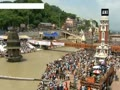 Ashes of former PM Vajpayee immersed in Ganga river