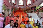 'Chhari Mubarak' taken to Sharika-Bhawani temple