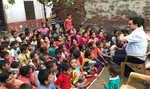 Slum children get free education, courtesy aided school principal
