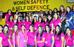 Self-defence training for women