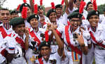 NCC Navy wing bags best marching award