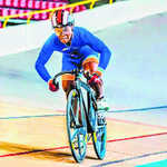 Esow Alben wins silver at World Junior Track cycling