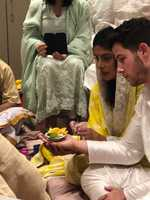 Celebrations begin for engagement of Priyanka Chopra, Nick Jonas