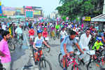400 pedal against air pollution